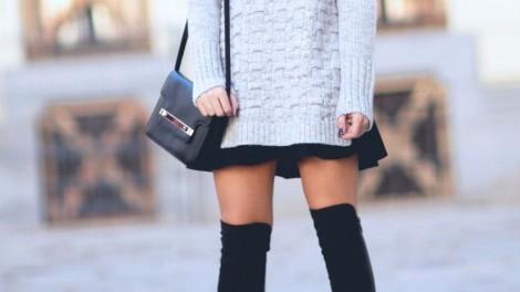 Το κόλπο για να φαίνεται σα να φοράτε over the knee μπότες