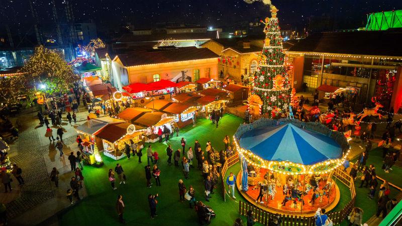 Τα χριστουγεννιάτικα πάρκα ανοίγουν τις πόρτες τους!