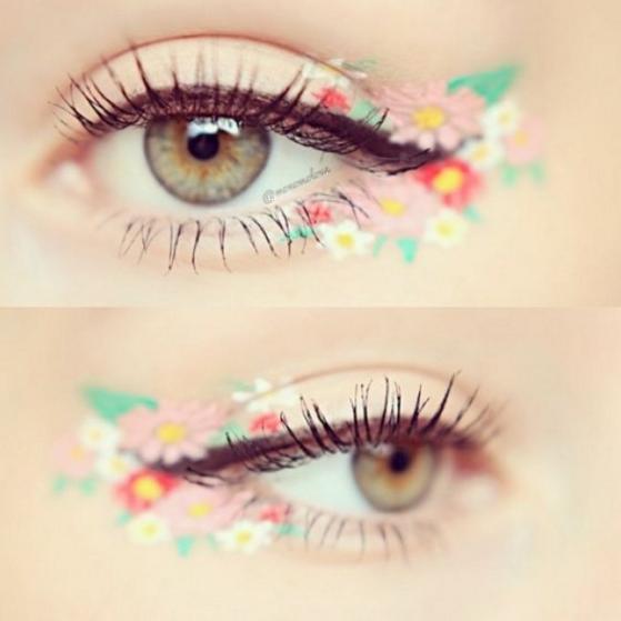 Λουλουδάτο eyeliner 1