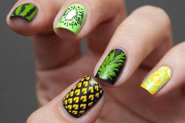 fruit nail art 1