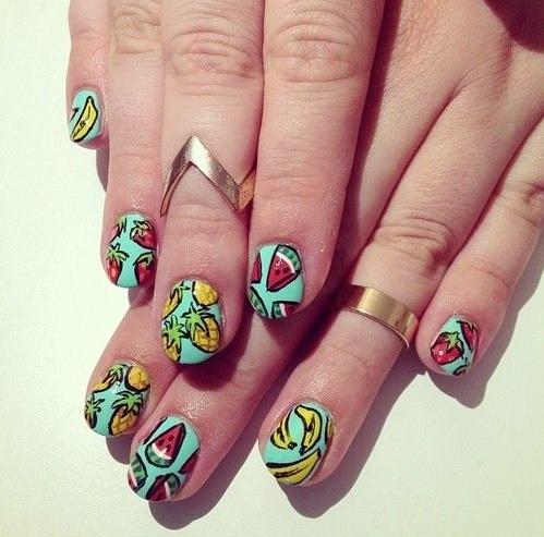 fruit nail art2