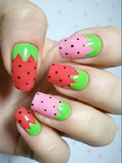 fruit nail art3