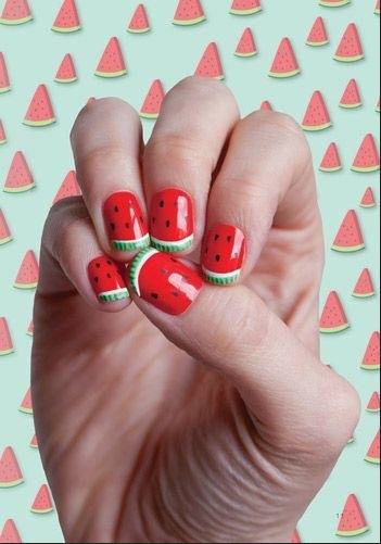 fruit nail art4