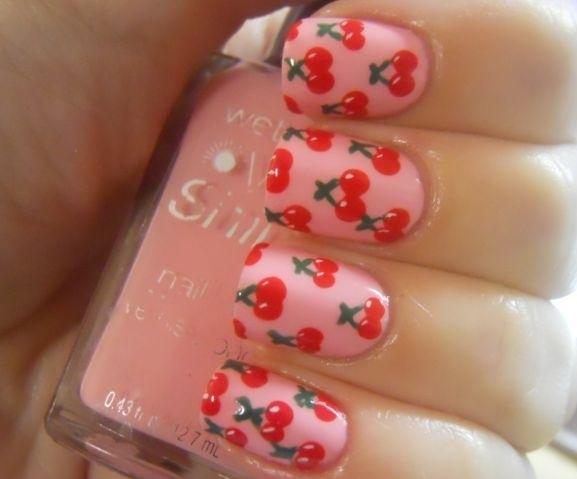 fruit nail art7